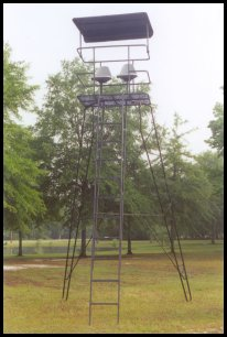 2 seat eagle's peak deer stand